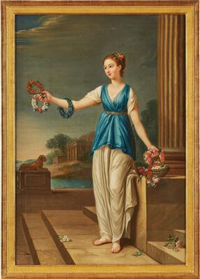 Joseph Marie Vien, Werkstatt Des U201eLe Printempsu201c Um 1800
